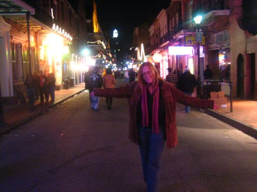 Teri on Bourbon St