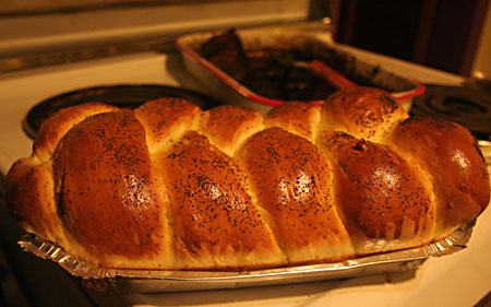 Challah attempt 1