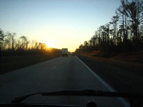 Interstate 10, Somewhere in Louisiana