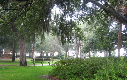 Park in Savannah, Georgia