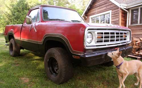 1976 Dodge Power Wagon
